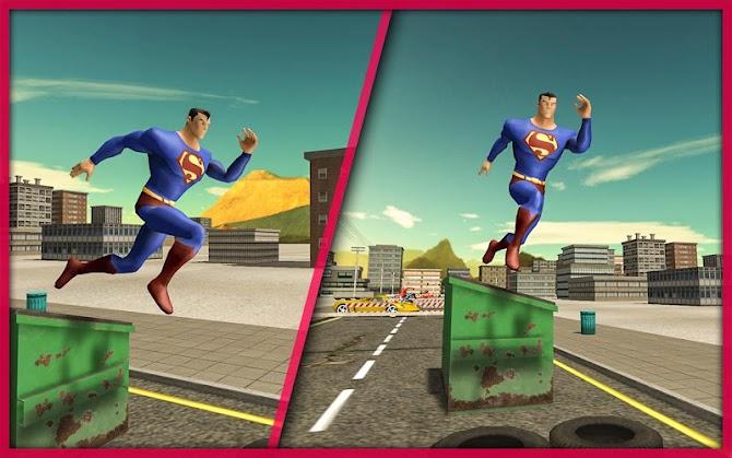 Superhero Extreme Parkour Android 10