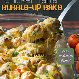 Chicken Fajita Bubble – Up Bake.