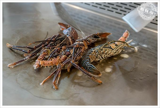 母堂鐵板燒深海龍蝦