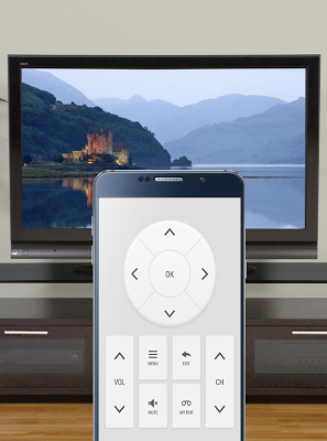 Steer TV with phone - screenshot
