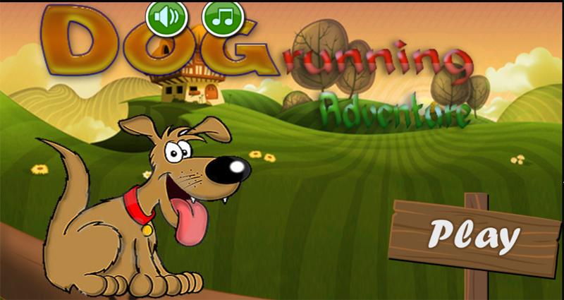 android Dog Running Adventure Screenshot 0