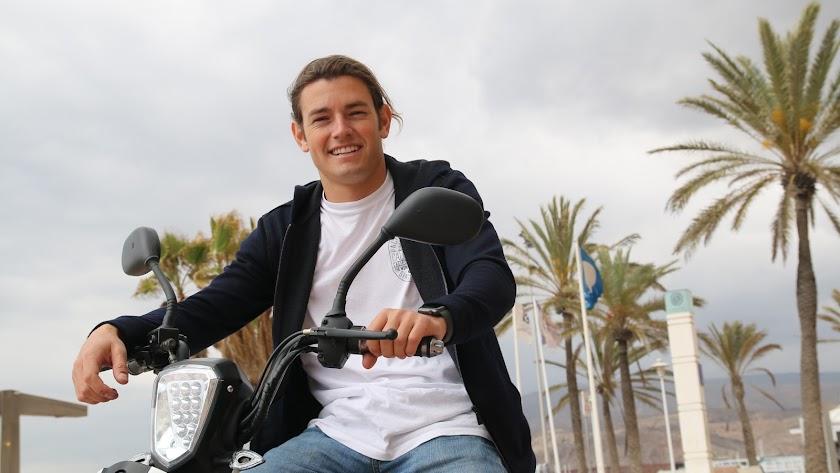 Alejandro Martínez Abad, en Almería