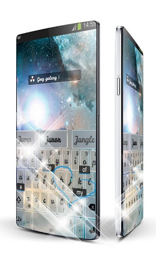 免費下載個人化APP|シャイニーギャラクシーキーボード app開箱文|APP開箱王