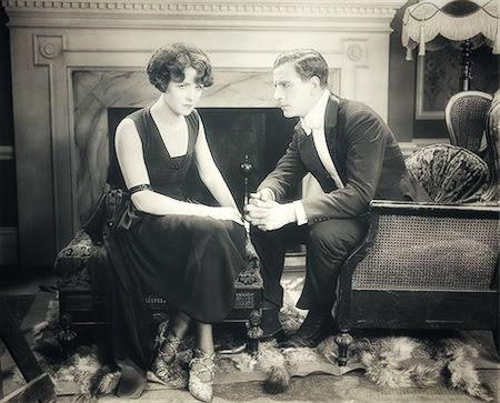 Foto antigua de una pareja
