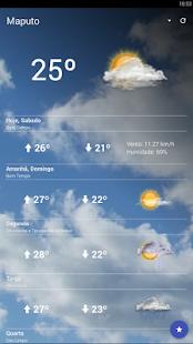 Previsão do Tempo Moçambique - Apps on Google Play