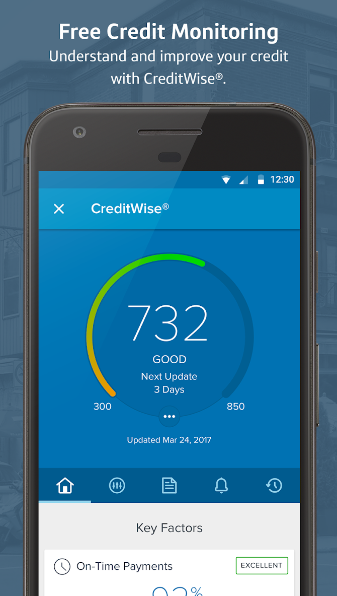 Capital One® Mobile Android 5