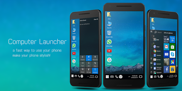 Computer Launcher Screenshot