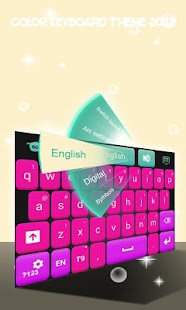 Color Keyboard Theme 2017 - náhled