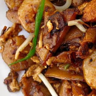 Penang Char Kuay Teow (Stir-Fried Flat Rice Noodles).