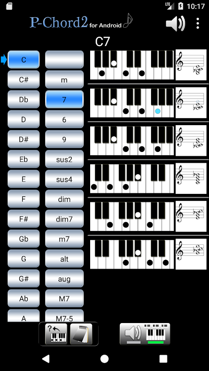 PChord2 (Piano Chord Finder) – (Android Apps) — AppAgg