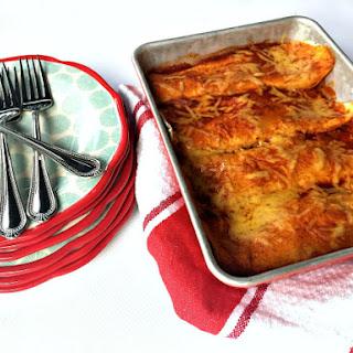 Cheesy Meat Enchiladas
