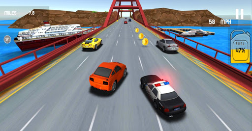 Real City Police Car Driving apktram screenshots 1