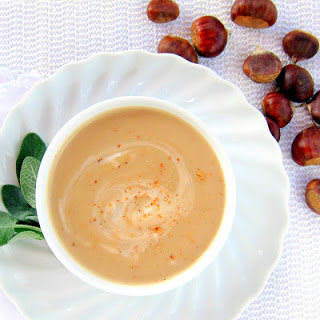 Chestnut Soup (Potage di Marroni) - pressure cooker