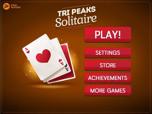 TriPeaks Solitaire 0.1.5 screenshots 1