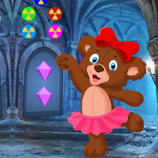Cute Bear Cub Rescue Best Escape Game-339
