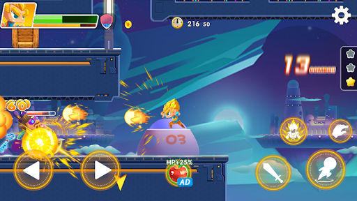 Hero the Man - Transform to Super Z SSJ Warriors 1.6.0.186 screenshots 11