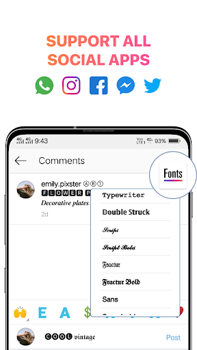 Cool Fonts for Instagram - Stylish Text Fancy Font ss2