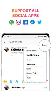 Cool Fonts for Instagram - Stylish Text Fancy Font Screenshot
