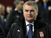 La Serbie et son sélectionneur lourdement sanctionnés par l'UEFA