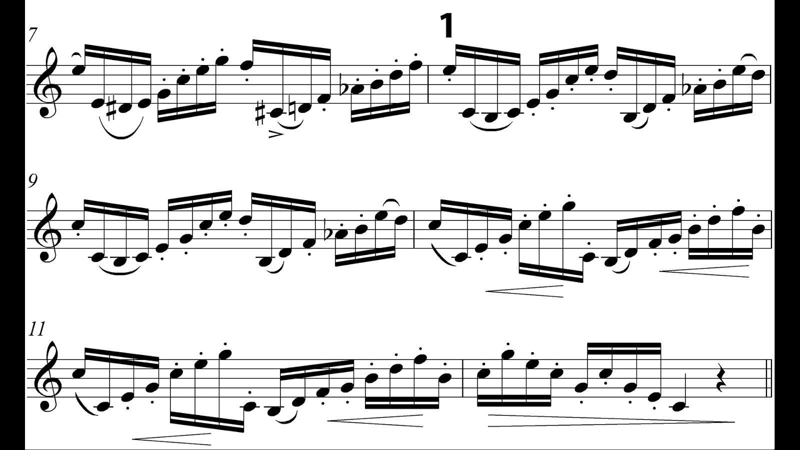 arban study no 1 - advanced trumpet  u0026 cornet