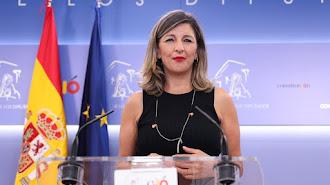 Yolanda Díaz es ministra de Trabajo.