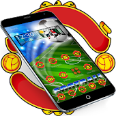 Football Manchester Launcher Theme