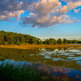 by Chris Mowers - Landscapes Waterscapes ( water, clouds, kensington,  )