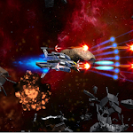 3D Space Shooter: Bullet Hell Meja Infinity Icon