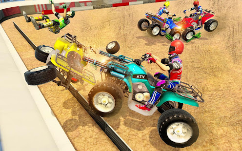 Download Monster ATV Bike Demolition Derby For PC Windows and Mac apk screenshot 4