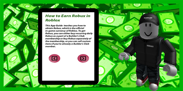 Guide On How To Earn Robux - náhled
