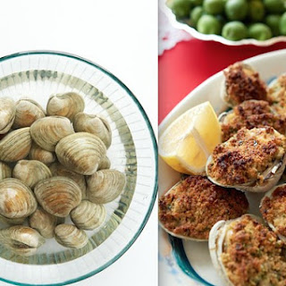 Baked Clams with Garlicky Breadcrumbs.