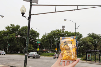 Photo: Garrett Mix makes an appearance in Logan Square!