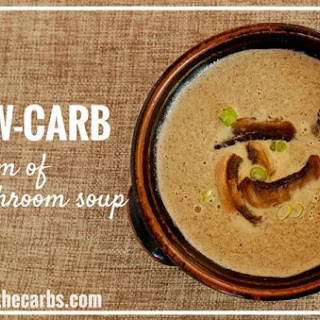 Low-Carb Cream Of Mushroom Soup.