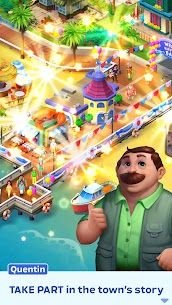 Match Town Makeover Mod Apk 1.7.800 (Unlimited Boosters) 4