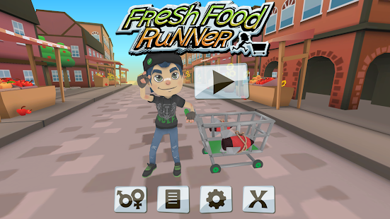 Fresh Food Runner- screenshot thumbnail