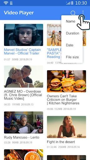 Video Player All Formats 1.2 screenshots 2