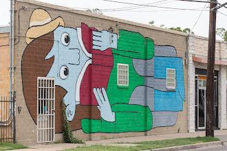 Photo: Domy Books - Giant Wall Art - Austin, Texas