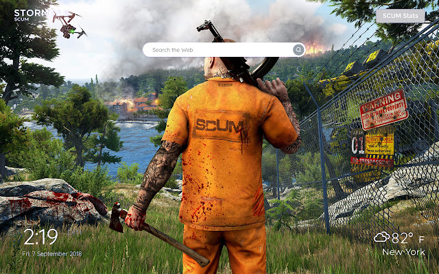 SCUM Wallpapers & New Tab