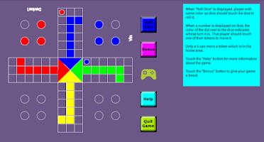 Screenshot of Ludo Mania