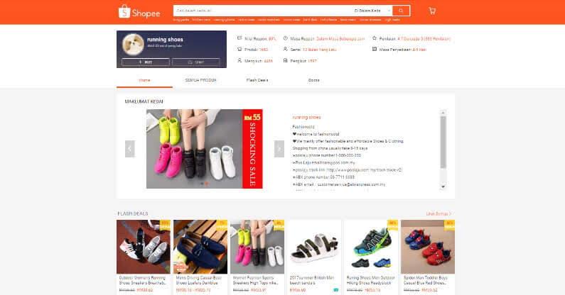 Kedai Online Shopee