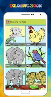 New Game Coloring for Kids - náhled