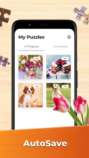 Jigsaw Puzzles - HD Puzzle Games modavailable screenshots 8