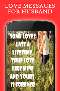 Love messages for husband- screenshot thumbnail