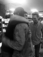 Photo: Raleigh hugs