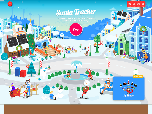 Google Santa Tracker screenshot 8