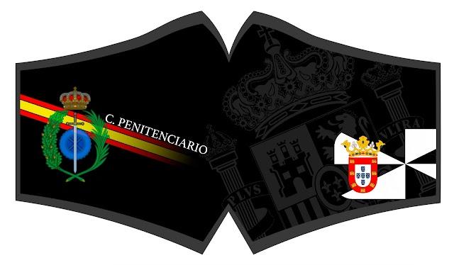 El personal del Centro Penitenciario de Ceuta también encargaron sus mascarillas a José Liria.