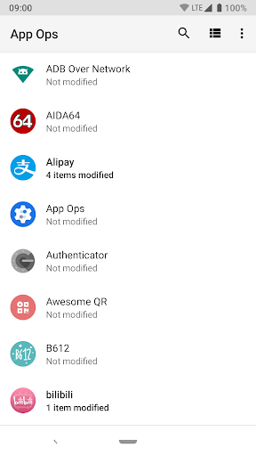 App Ops - Permission manager 3.0.3.r939.2865453 screenshots 1