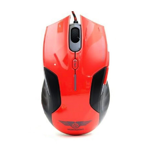 Chuột máy tính Newmen N500 Plus Gaming (Đỏ)