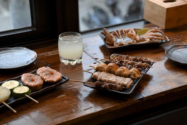 台北士林區裡的入夜食味與盛夏金箔奶啤|澠井川 日式串燒居酒屋-貳場