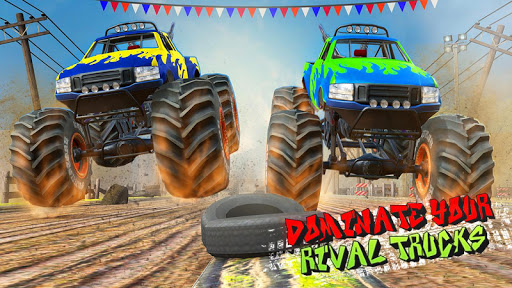 Xtreme Destruction Monster Truck Stunts  screenshots 1